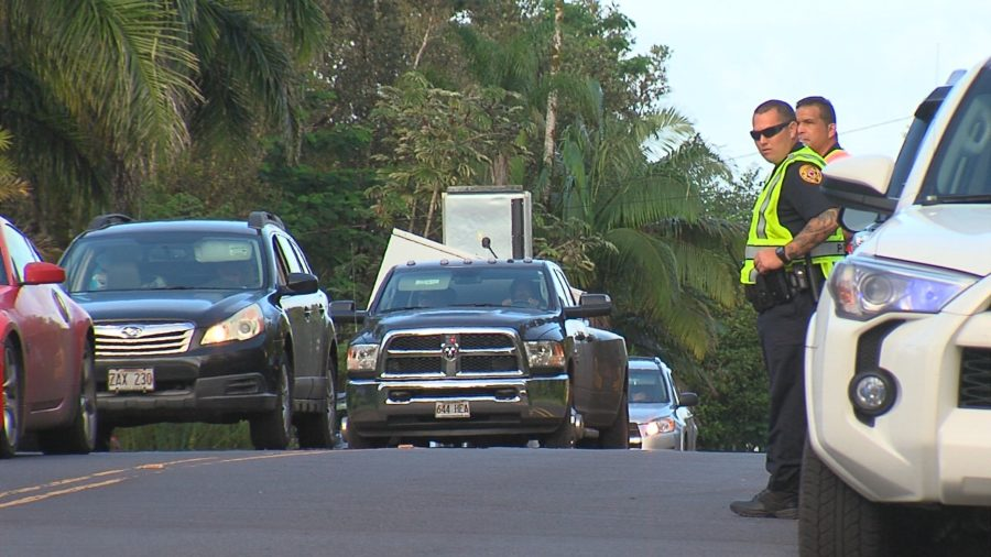 VIDEO: Sirens Sound As Leilani Residents Flee Lava Eruption