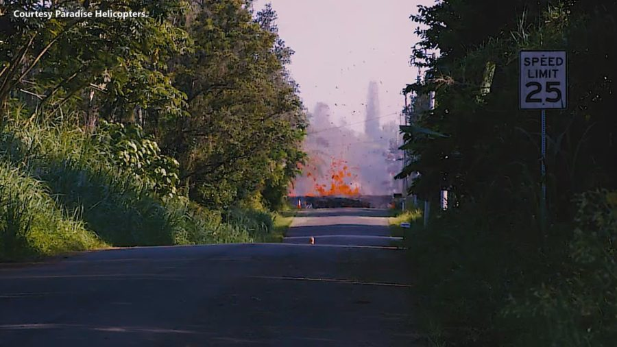 6 AM Friday: Volcanic Eruption Continues In Leilani Estates