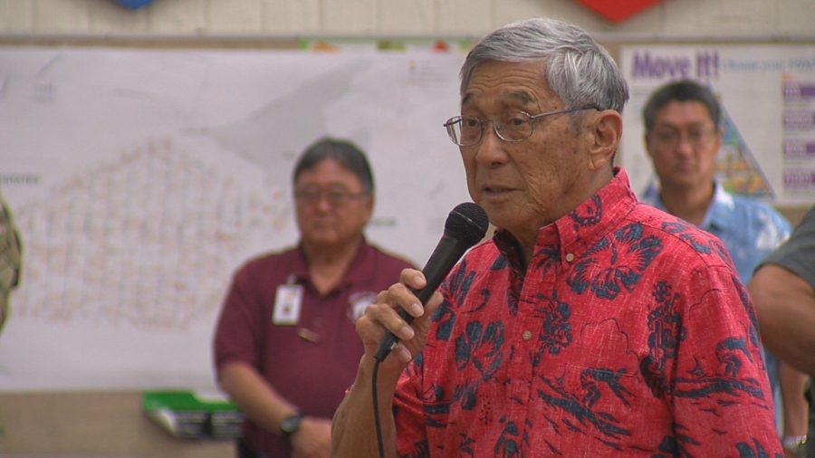 VIDEO: Mayor Kim Opens First Public Meeting On Eruption