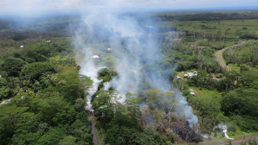 7 am Eruption Update: Fissure Activity Continues In Leilani