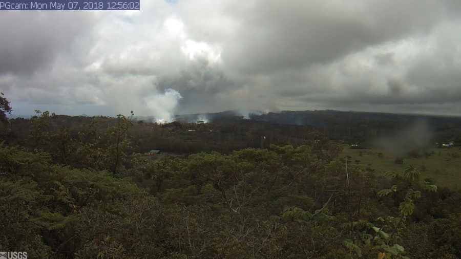 1 pm Eruption Update – Puna Geothermal Plans To Remove Pentane