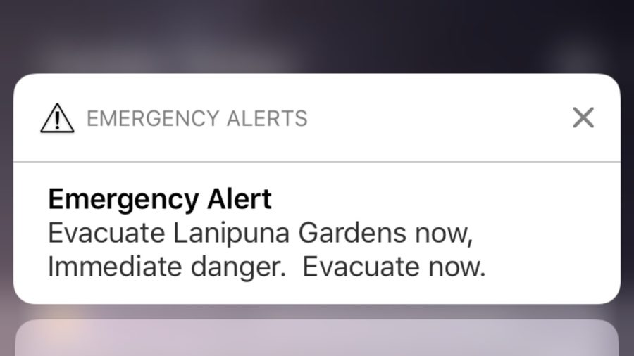 EVACUATION NOTICE: New Vents Open, Lanipuna In Danger