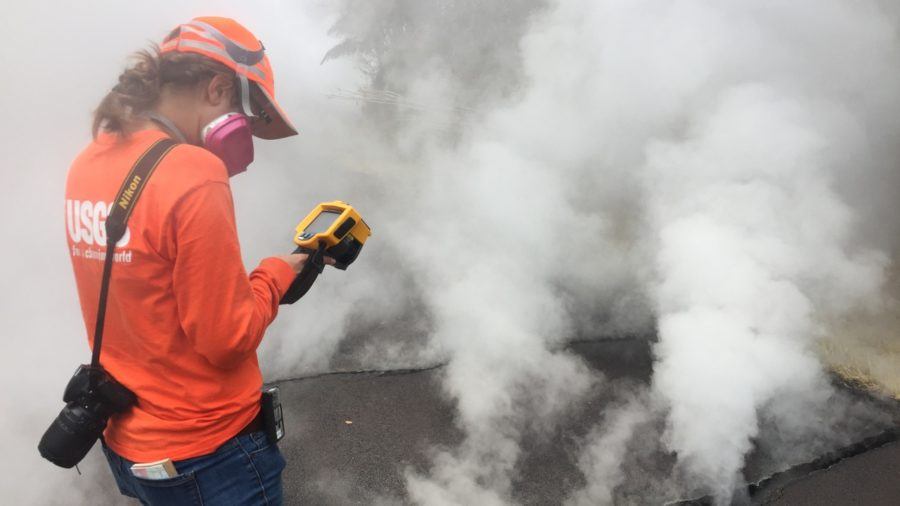 VIDEO: Scientists Watching Up & Downrift For Next Eruption