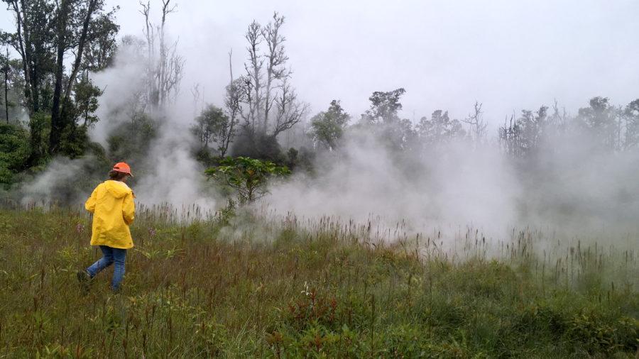7 am Eruption Update – Hazardous Fumes, No Active Lava