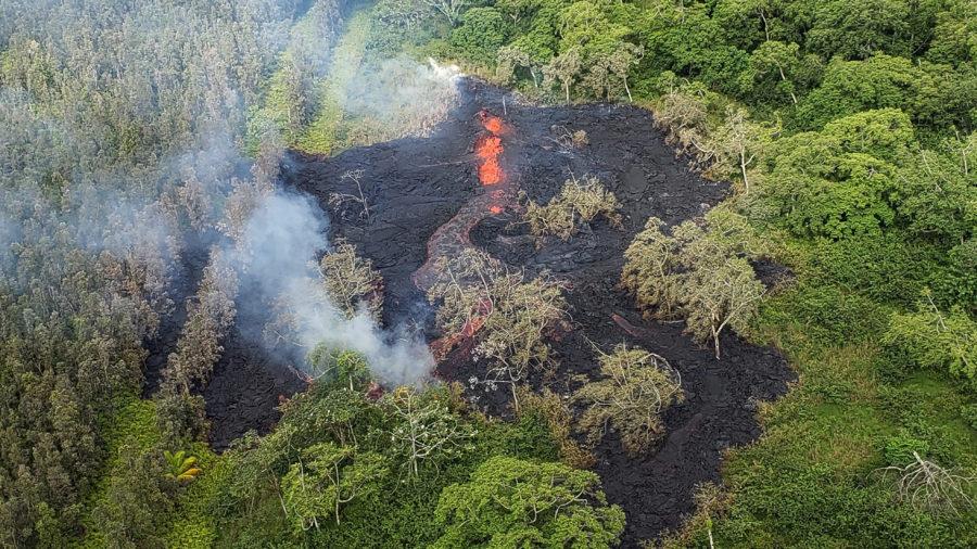 Afternoon Eruption Update – New Fissure, Lower Puna Vacation Rentals Pau