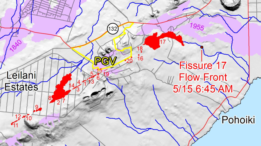 6 pm Eruption Update: Fissure 6 Near Leilani And Pohoiki Active Again