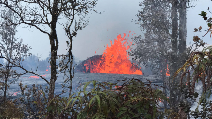 New Fissure Opens In Leilani Estates, Lava Flows Generated