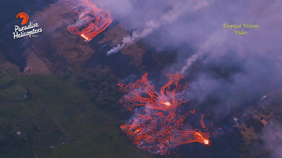 VIDEO: 1 pm Eruption Update – Fissure Activity Increases