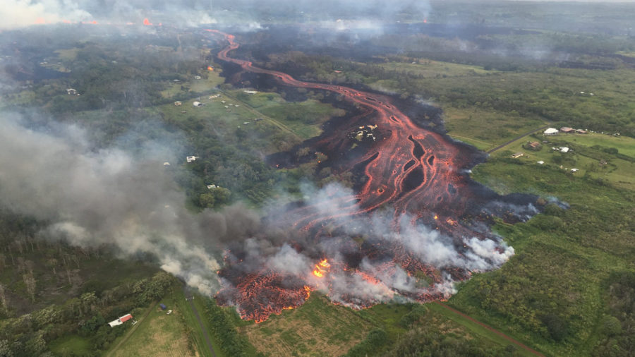 10 am Eruption Update – Rate Of Lava Eruption Increases