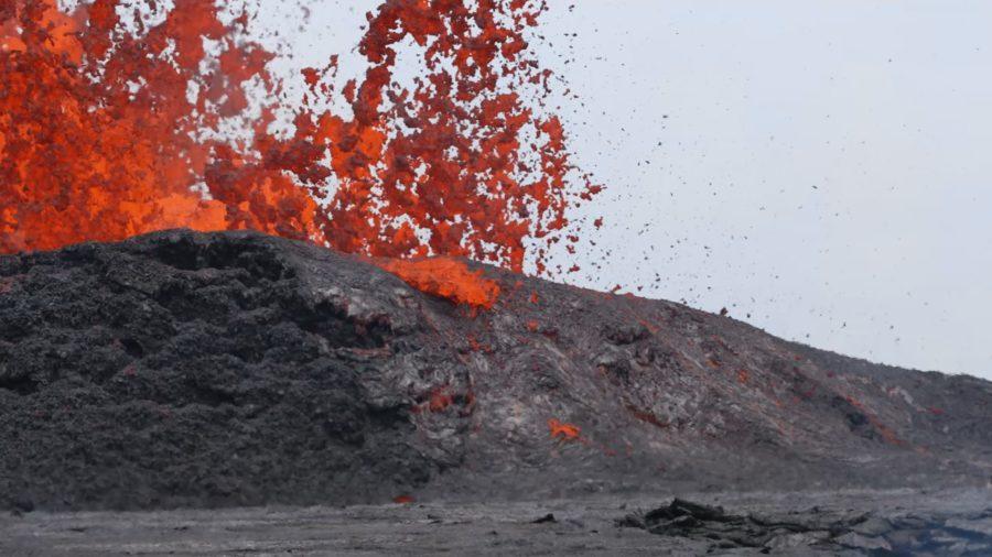 VIDEO: 8 pm Eruption Update – Summit Explosion, Lava On PGV Property