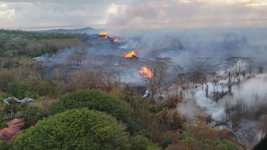 VIDEO: 1 pm Eruption Update – Lava Destroys HGP Site, Nears PGV