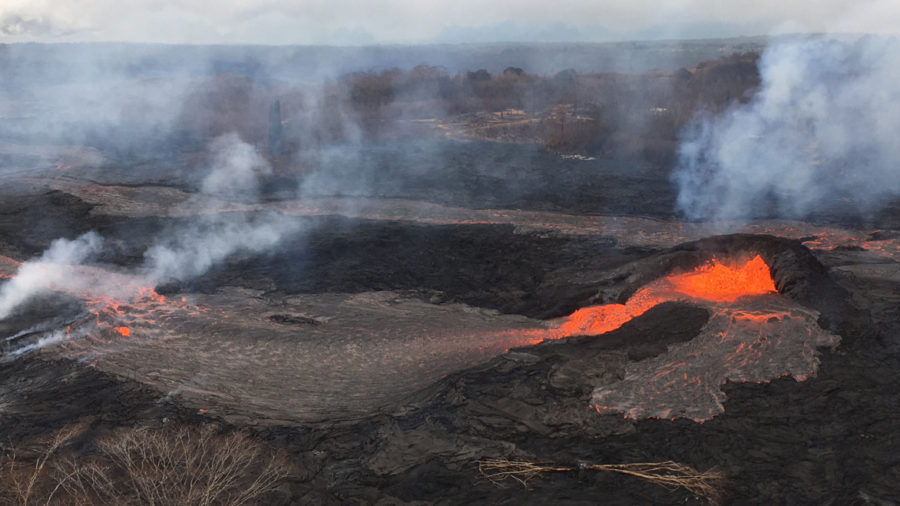 VIDEO: USGS Updates On Leilani Lava Flows, Summit Explosions