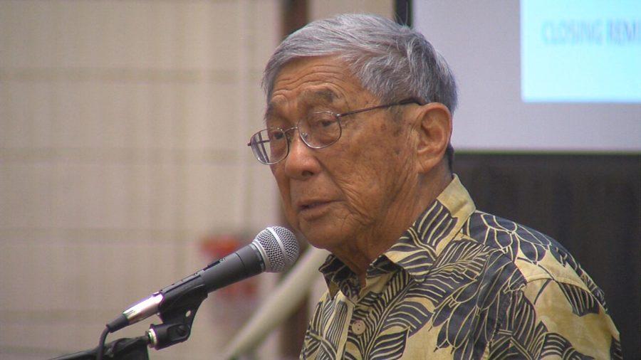 VIDEO: Eruption Meeting – Mayor Harry Kim