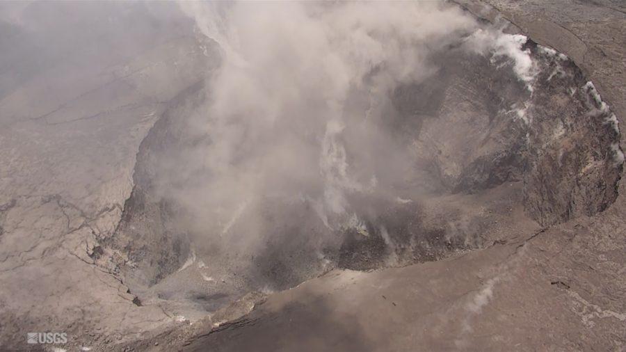 VIDEO: Change Observed At Kilauea Volcano Summit