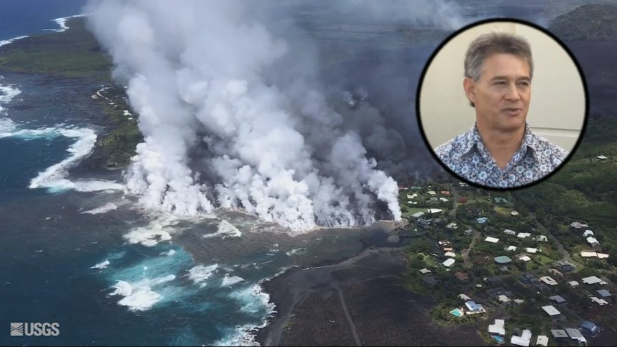 VIDEO: Kapoho Lava Flow Update From Civil Defense
