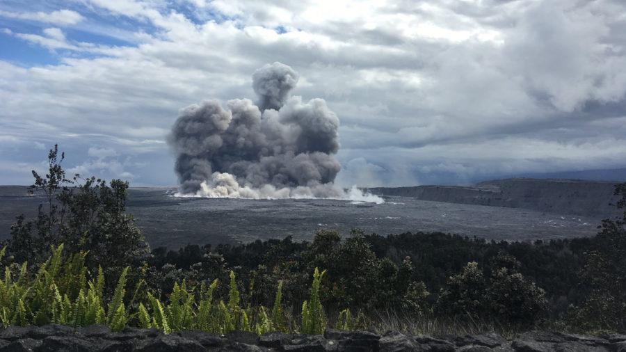Kilauea Summit Explosion: Magnitude 5.4, Ashfall Likely