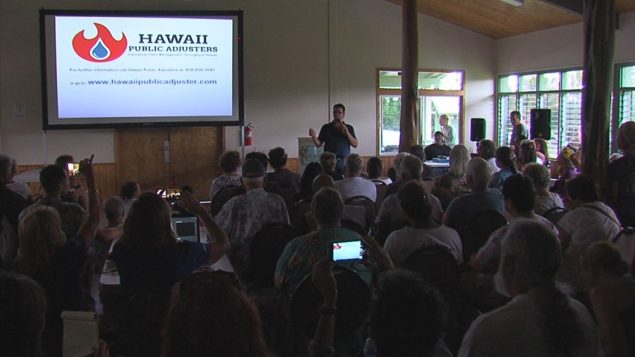 VIDEO: Insurance Forum Held After Homes Lost To Lava