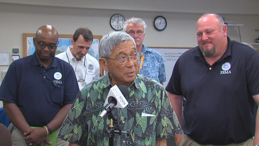 VIDEO: Hawaii County, FEMA Hold Press Conference On Eruption