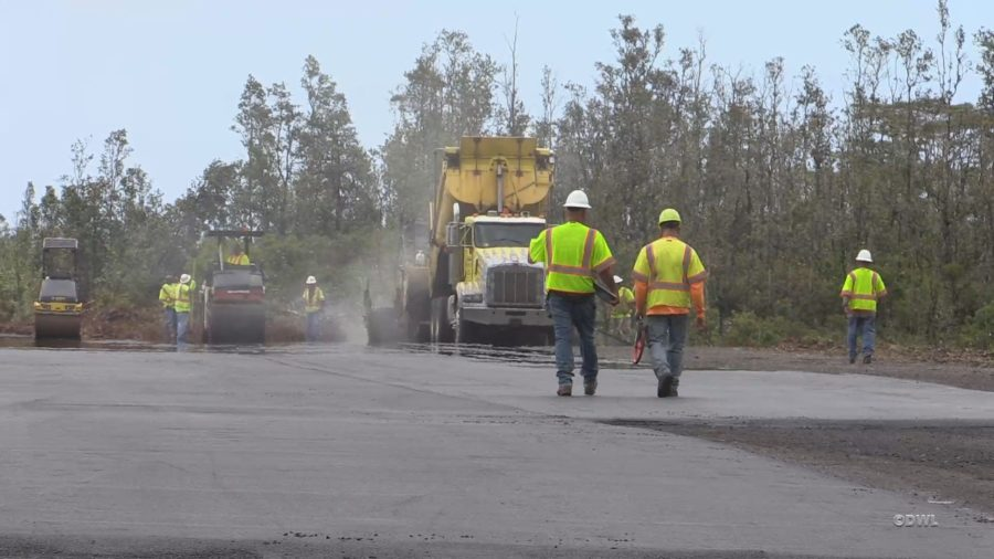VIDEO: Puna Airstrip Paved, Eyed For Temporary Housing
