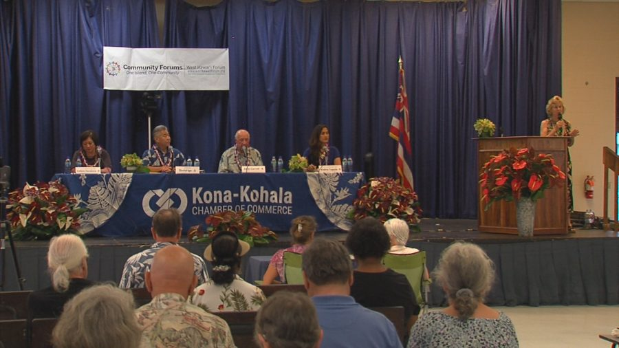 VIDEO: Gubernatorial Candidates Talk Kilauea, Mauna Kea