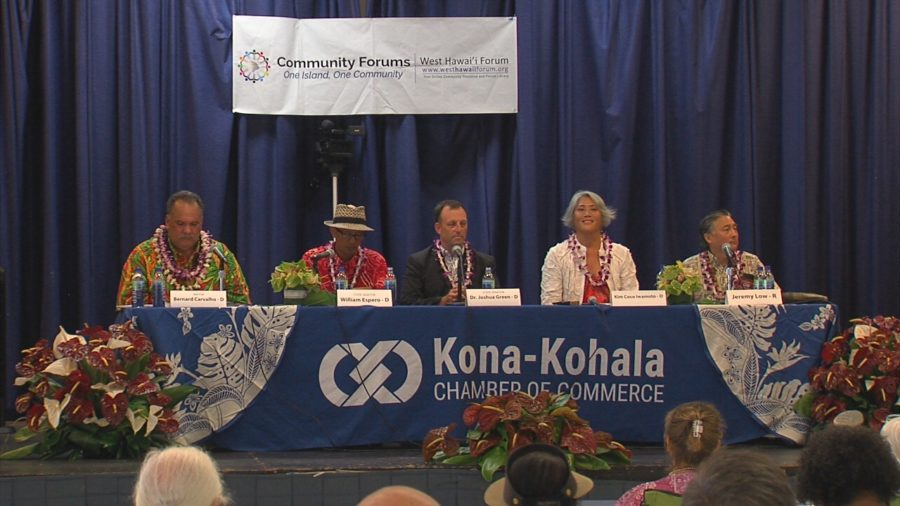 VIDEO: Lieutenant Governor Forum In Kona