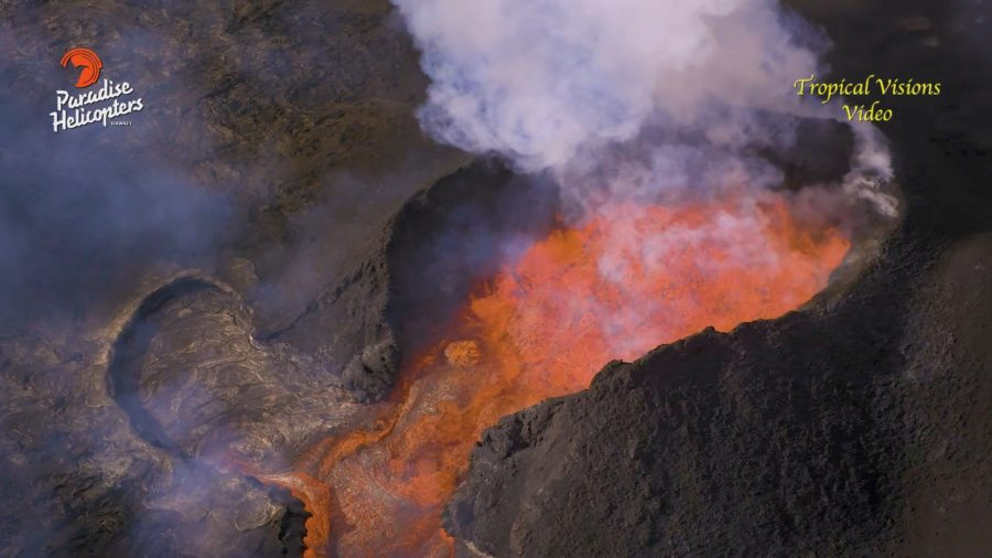 VIDEO: 6 am Eruption Update – Small Lava Overflows Short-lived