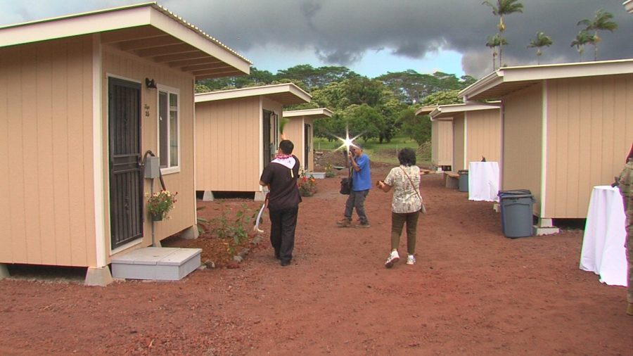 VIDEO: 20 Micro-housing Units Completed For Eruption Evacuees