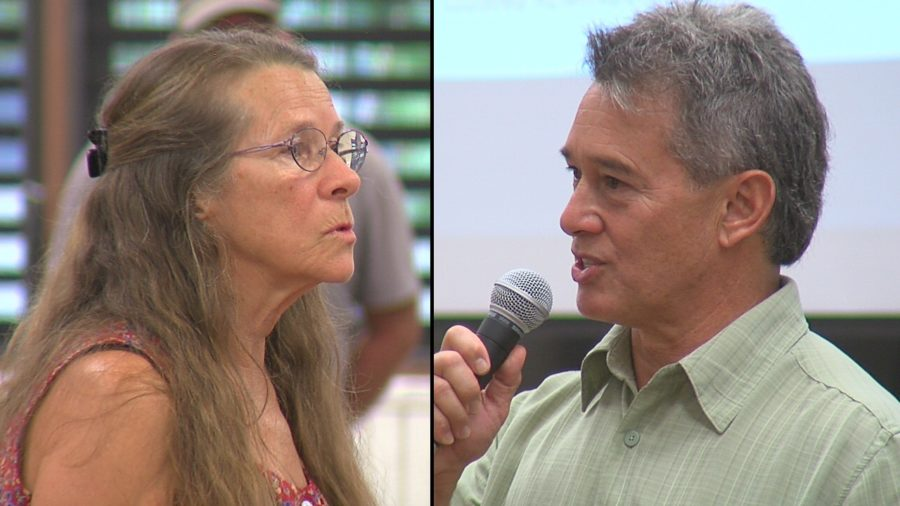VIDEO: Residents Question Civil Defense At Public Meeting