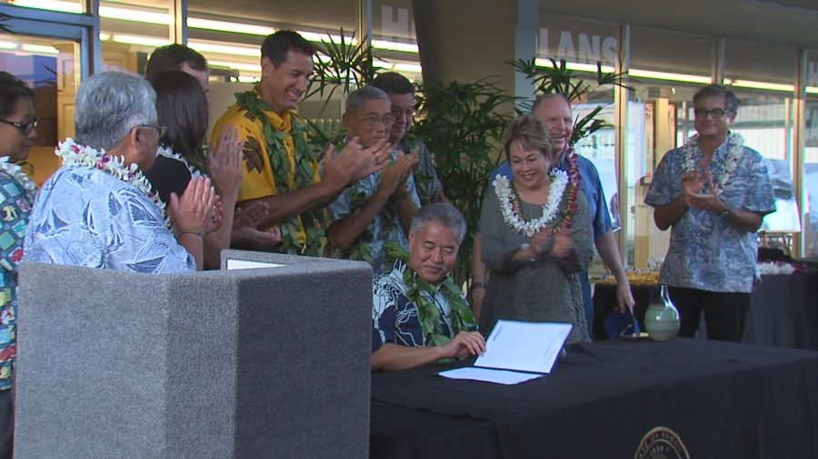 VIDEO: Hilo Community Economic District Bill Signed Into Law