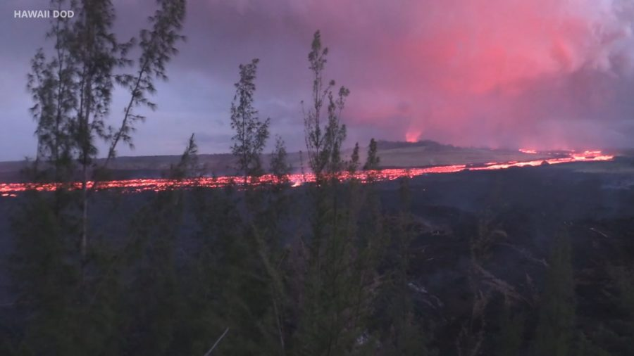 VIDEO: Officials Pressed On Lava Viewing Area