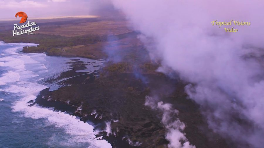 VIDEO: 7 am Eruption Update – Pohoiki Persists