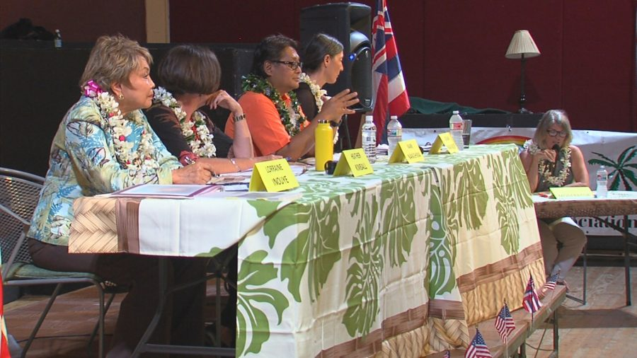 VIDEO: Honoka'a Forum Features Senate D4, House D1 Races