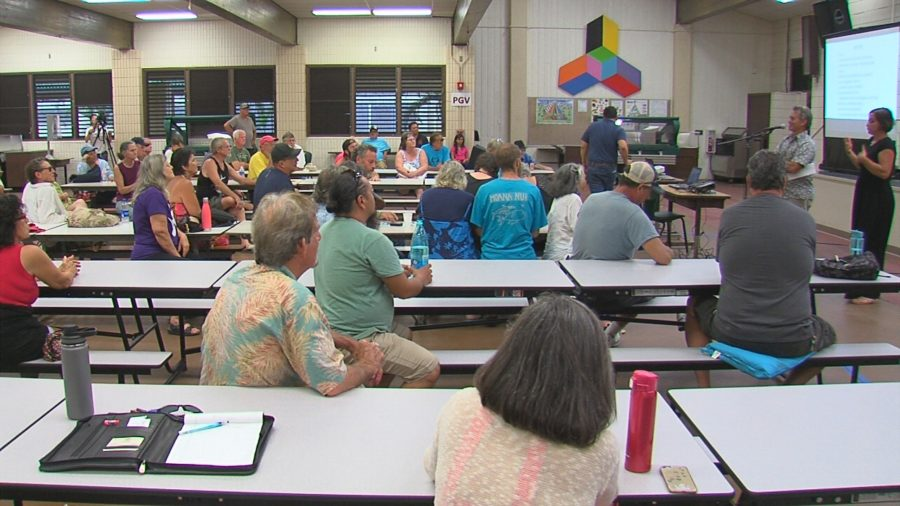 VIDEO: Officials Update On Eruption Response At Pahoa Meeting