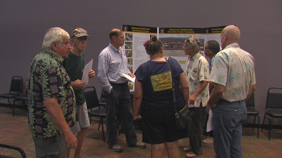 VIDEO: Pohakuloa Training Area Public Meeting In Hilo