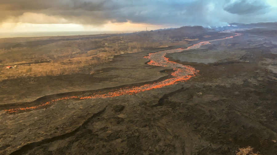 Eruption Update – Lava Levels Appear Low Awaiting Summit Collapse