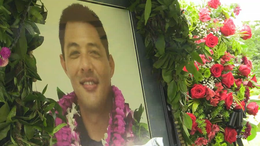 Funeral Service Held In Hilo For Fallen Officer Bronson Kaliloa