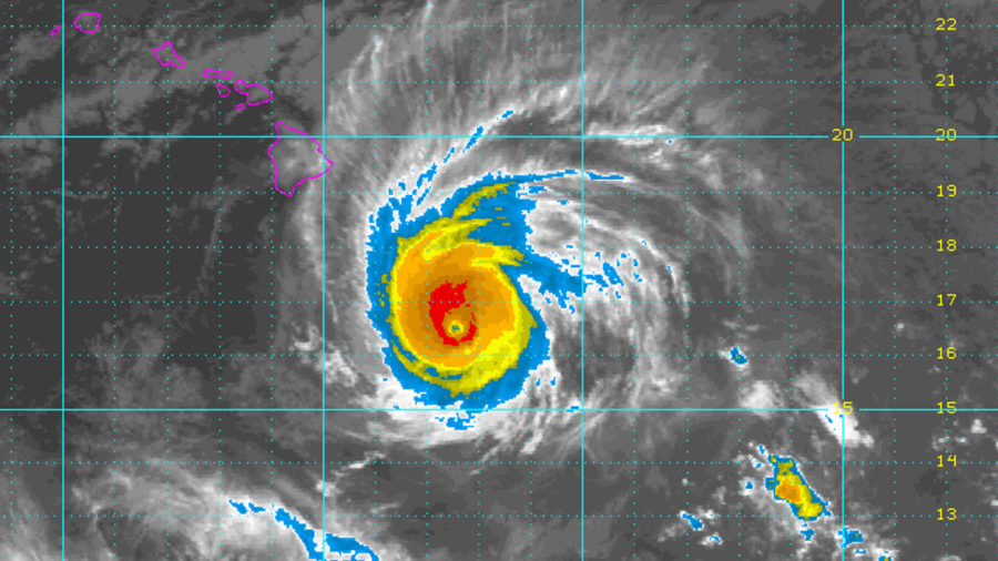 Category 3 Hurricane Hector Nears Hawaii, Emergency Proclamation Signed