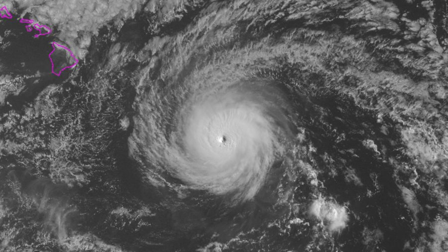 Tropical Storm Warning Issued As Hurricane Hector Makes Approach