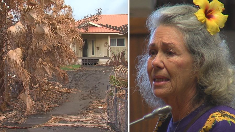 VIDEO: Puna Residents Impacted By Eruption Deliver Emotional Testimony
