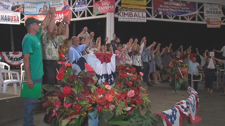 VIDEO SERIES: Democratic Grand Rally Held In Hilo