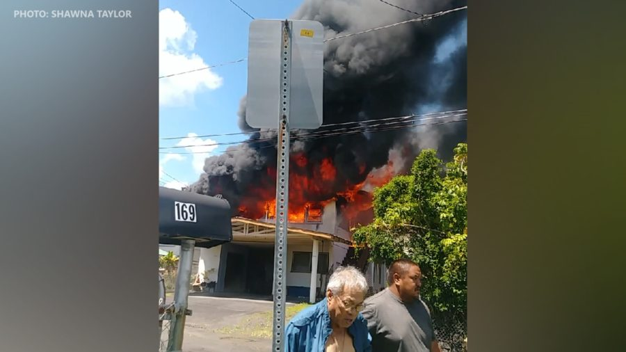 Structure Fire Doused On Mauna Loa Street In Hilo