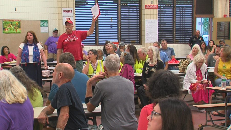 VIDEO: Eruption Meeting Held In Pahoa – Q&A Session