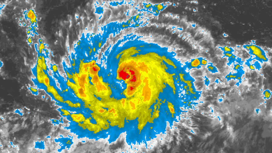 Lane Becomes 6th Hurricane Of 2018 Pacific Season