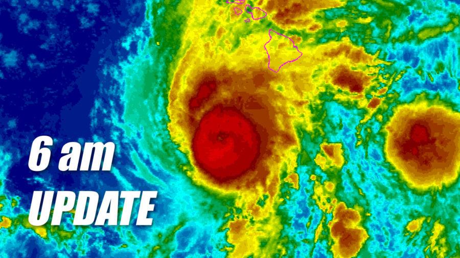 Hurricane Lane Update – 6 am Thursday, Aug. 23