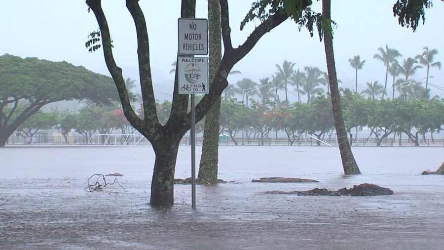 Hurricane Lane: Shelter Opened In Hilo, Health Warning For Flood Waters
