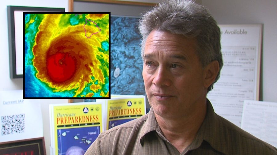 VIDEO: Hawaii County Civil Defense Hurricane Lane Impacts Update