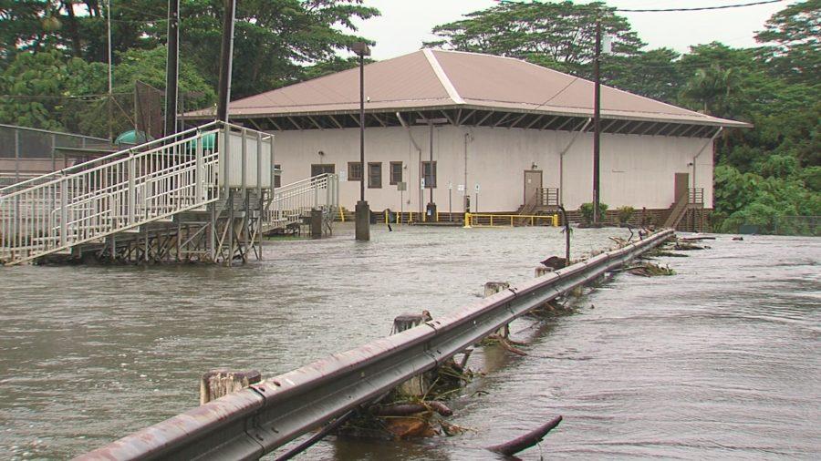 VIDEO: Hurricane Lane Update – 11 am – Flash Flooding Continues