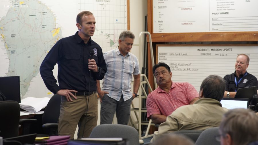 VIDEO: FEMA Admin Brock Long Visits Hawaii Island After Floods