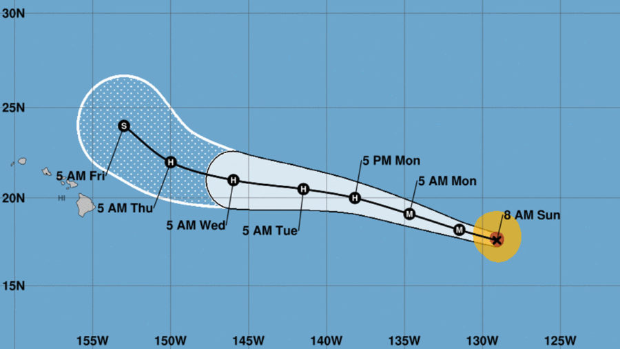 Norman Becomes Category Four Hurricane Overnight