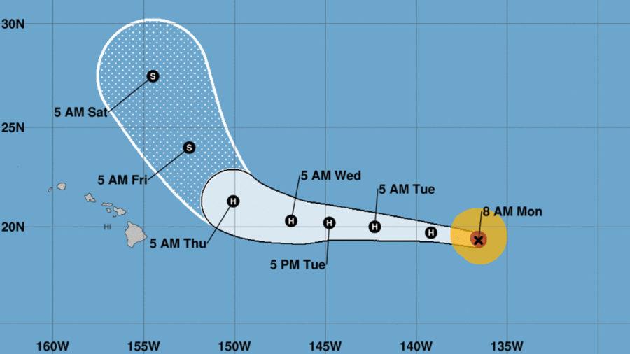 Hurricane Norman Weakening As It Heads West